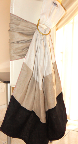 Ring Sling: Pure Linen Lux