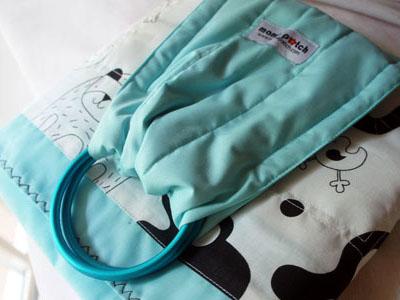 Baby Blue Panda-