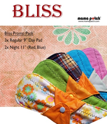 Bliss Promo Pack-Cloth Pad, Flannel Pad, Menstrual Cloth Pad,