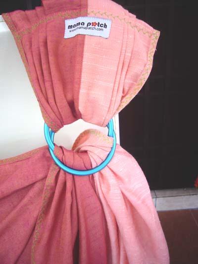 Pink Shantong Silk-