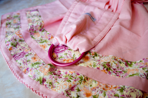 Pink Camellia (Linen Blend)-