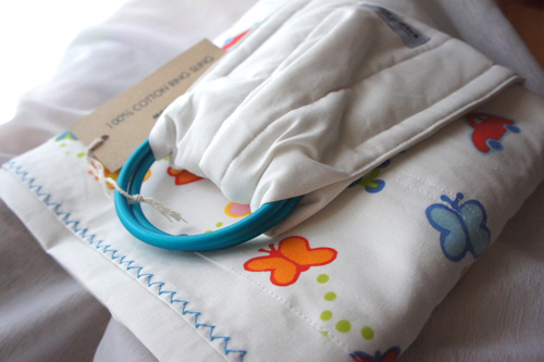 Ring Sling: Cotton Designer Pocket